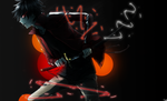 shintaro + laser lines = awesome by SinisterSmile74