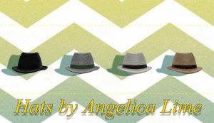 Hats by Angelica-Lime