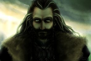 The Hobbit: Dwarf king by IcaZell