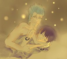 soifon and grimmjow by DNQ13