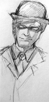 The Riddler Sketch by ma6