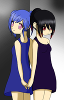 opposites..? by Angelgurl3