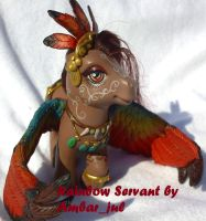 Pony custom Rainbow servant by AmbarJulieta