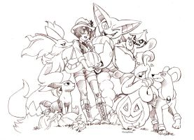 In The Pumpkin Patch002 by twisted-wind