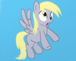 Derpy got into the Paint by stratusxh