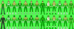MMPR Green Ranger: Tommy by CWK34