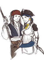 Pirates of the Dragon Age by pancakes-sama