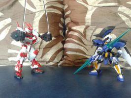 Gundam Build Fighters vs Danball Senki by ShadowStalker1217