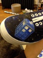 Doctor Who Shoes by a-wyrd-sister