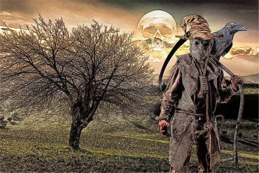 Scarecrow: Sketch Re-Edit by pypeworks