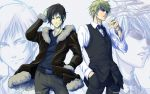 IZAYA and SHIZUO - Wallpaper by Washu-M