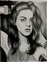 Frances Bean Cobain by marikagrig