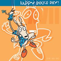 Happy Rocko Day 2010 by Netaro