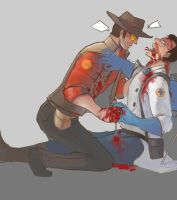 tf2 CBS and medic by hr89