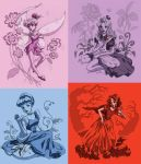 Martin Hsu- Disney Princesses by MHSU