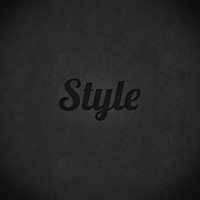 Free Pressed Photoshop Layer Style by juliuscaesarrock
