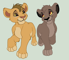 Betrothed (lion cub adoptable closed) by GaiaGirl2468