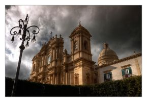 Cathedral of Noto by rhipster