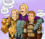 DAO - The Theirin Boys by JadeRaven93