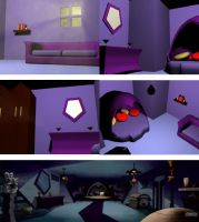 Ravens Room - Teen Titans by Luna-Fawne