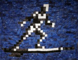 Silver Surfer Quilt by 8bitHealey