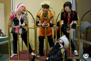 Rock Akicon with Team 7 by Ai-rika