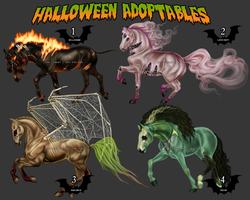 HALLOWEEN ADOPTABLES!! SOLD! by THE--ENEMY