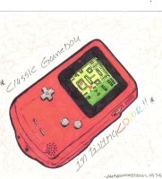 classic gameboy in color by vintageisclassic