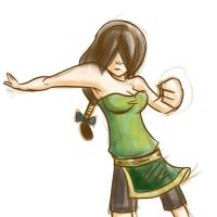 Avatar - Older Toph by SquirrelTamer