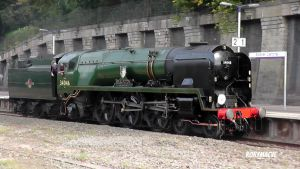 SR 34046 'Braunton' at Exeter Central by The-Transport-Guild