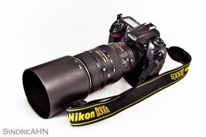 Nikon D300s with 80-400mm by SindreAHN