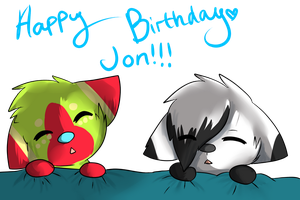 Happy Birthday Jon! by Samooraii