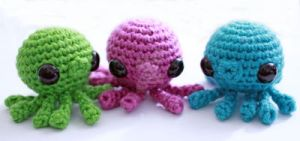 Octopus Babies by tinyowlknits