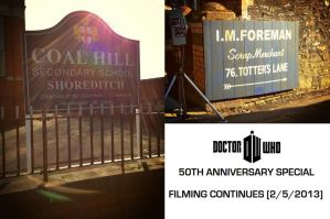 DW 50th Anniversary Special - Filming Continues by DoctorWhoOne