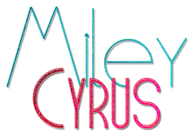 Texto - Miley Cyrus by alexanderjunior