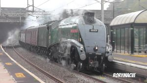 LNER 60009 'Union of South Africa' at Wolverton by The-Transport-Guild