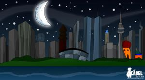 LROB - Cityscape Night by Bleezer