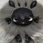 Toothless Furry Creature by RamalamaCreatures
