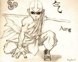 Aang by IceBittenDuchess
