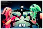 Luka e Gumi . Love Is War by LeonorGracias