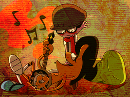 .:Sharing the Melody:. by DarkwingSnark