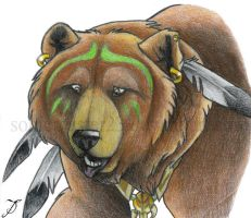 Big Bear, for Jonathan by SonicMaster23