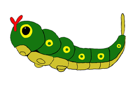 Caterpie by CaterBug