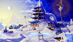 Neptune Scenery Concept art #1 by Miss-TaDa