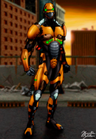 Mortal Kombat: Cyrax - Alternate Costume by JhonatasBatalha