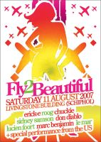 Poster - Fly 2 Beautiful by DonQasim