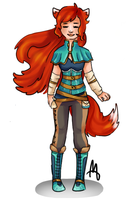 Solarfox123 Outfit Commission by Lt-Frogg