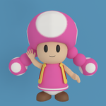 Toadette by SiverCat