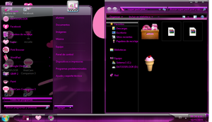 pinky  theme by florvaz5