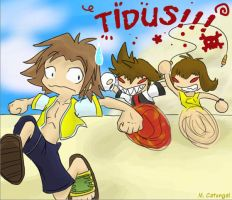 Way to Go Tidus by gryphonworks